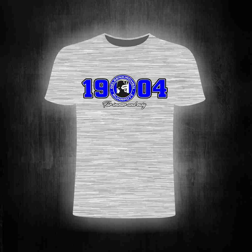 T-Shirt einseitig bedruckt- Gelsenkirchen 1904 für immer und ew