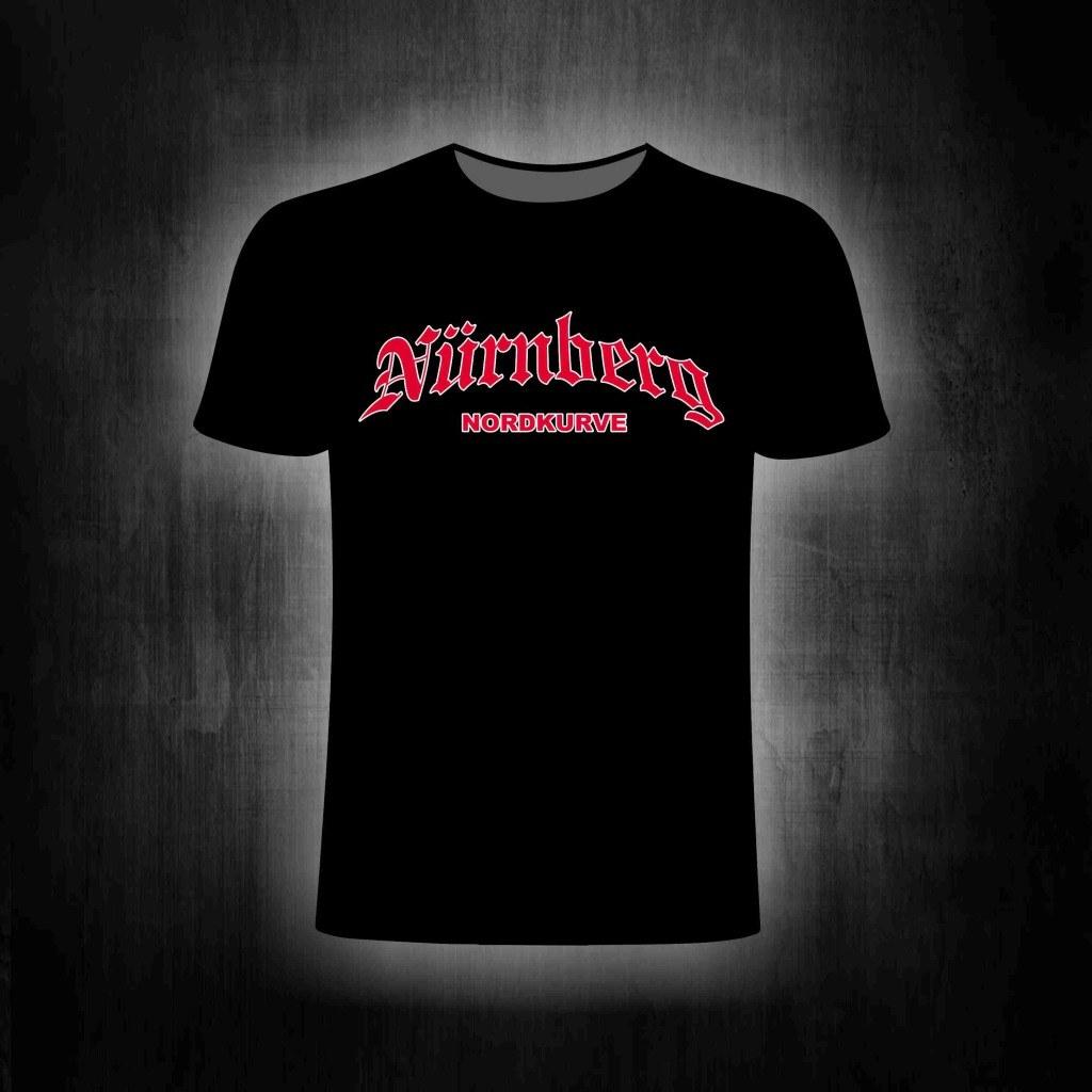 T-Shirt einseitig bedruckt - Nürnberg Nordkurve