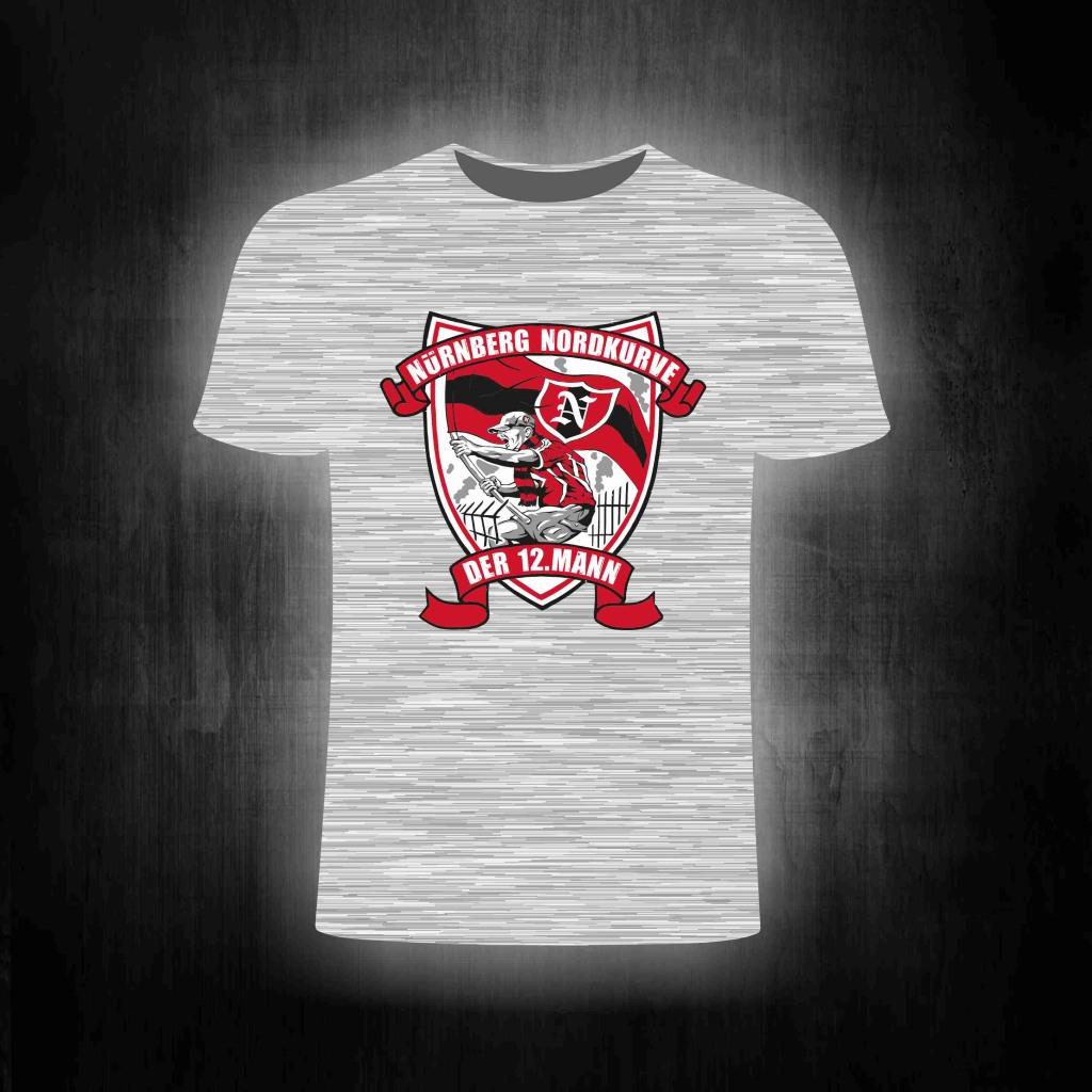 T-Shirt einseitig bedruckt der 12. Mann