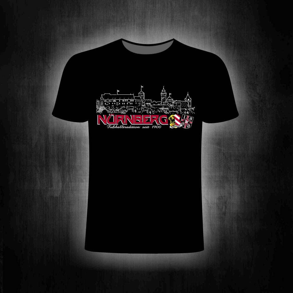 T-Shirt einseitig bedruckt Fußballtradition seit 1900