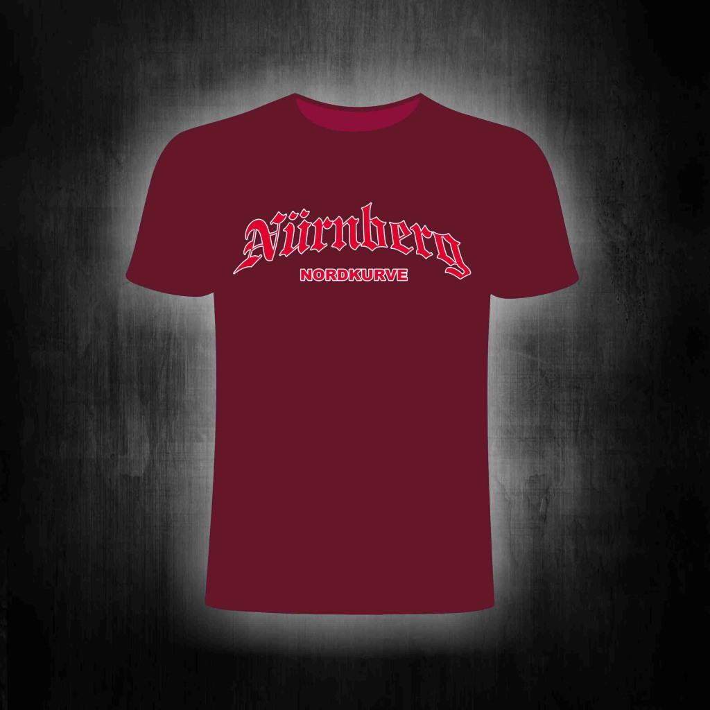 T-Shirt einseitig bedruckt  Nordkurve