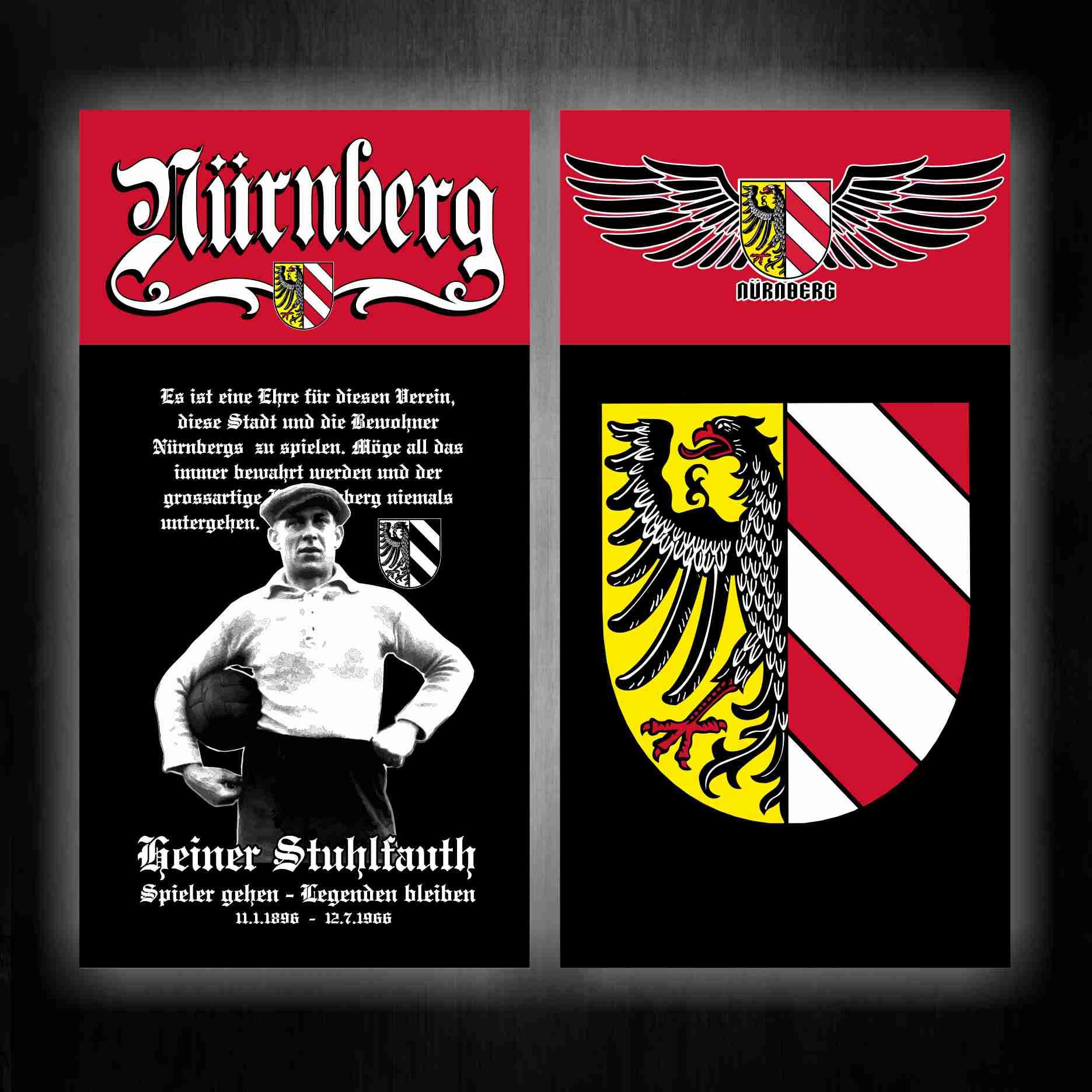 Schlauch Schal Maske  Nürnberg Wappen
