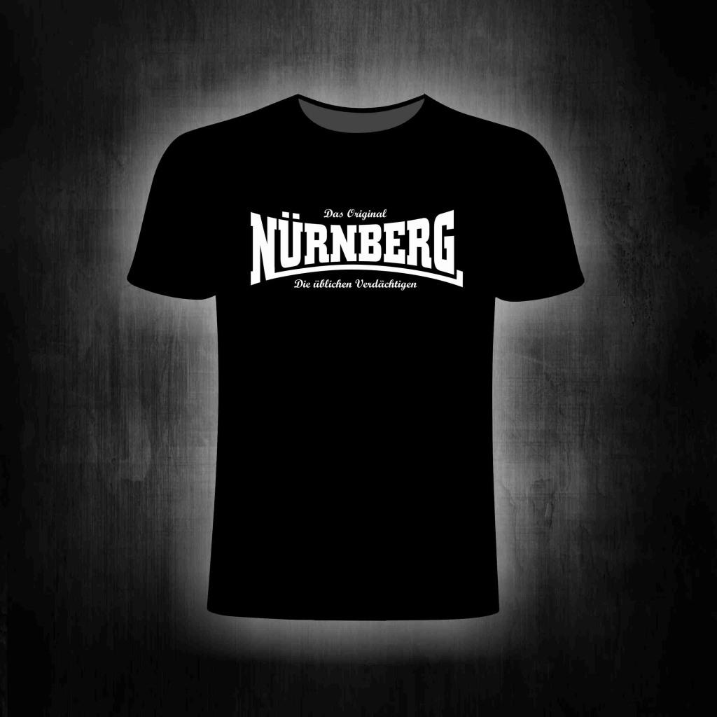 T-Shirt einseitig bedruckt  Die üblichen Verdächtigen