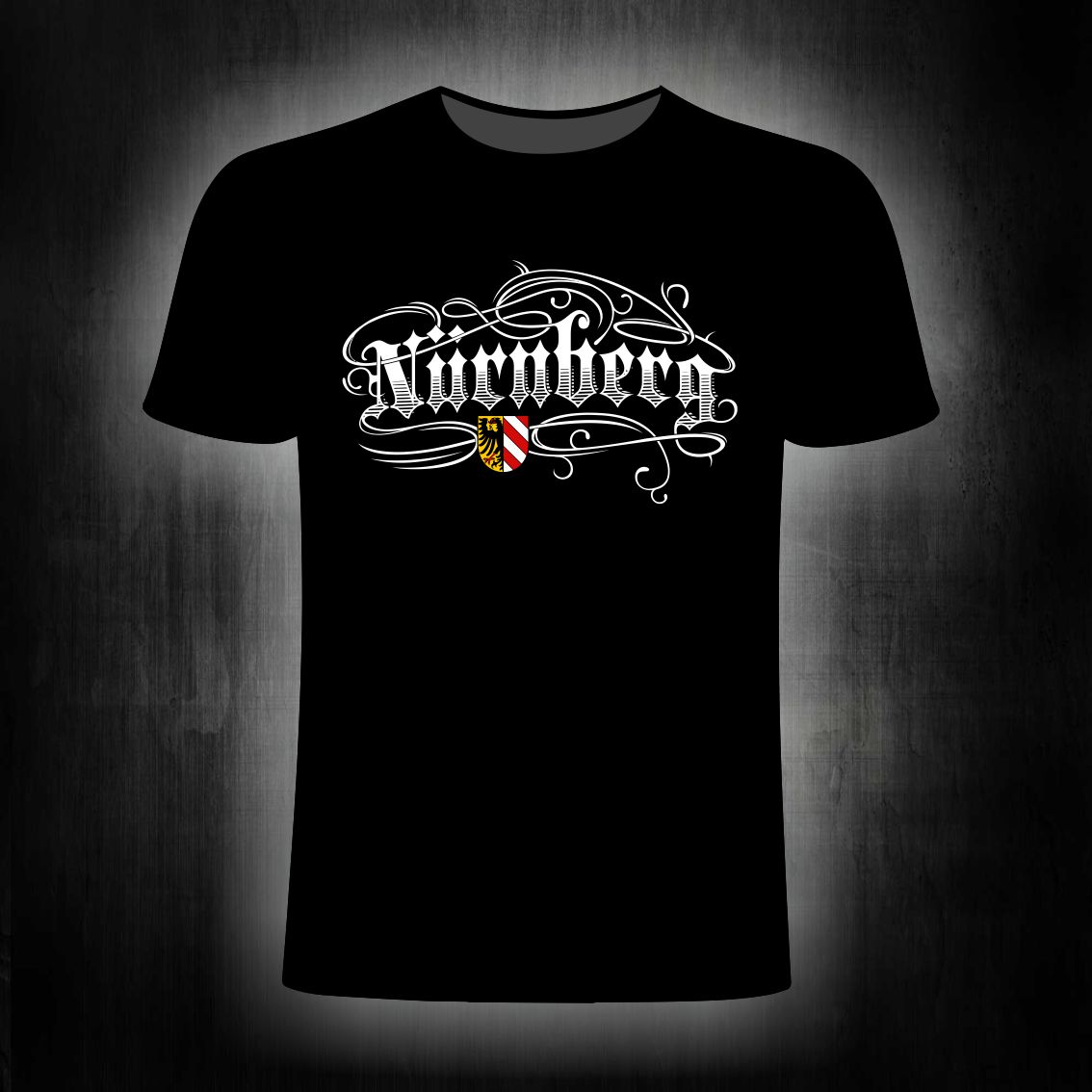 T-Shirt einseitig bedruckt  Tattoo Style