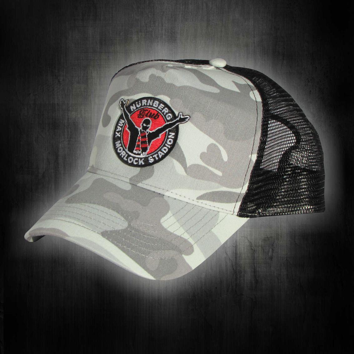 Base Cap mit gestickten Logo   Max Morlock Stadion