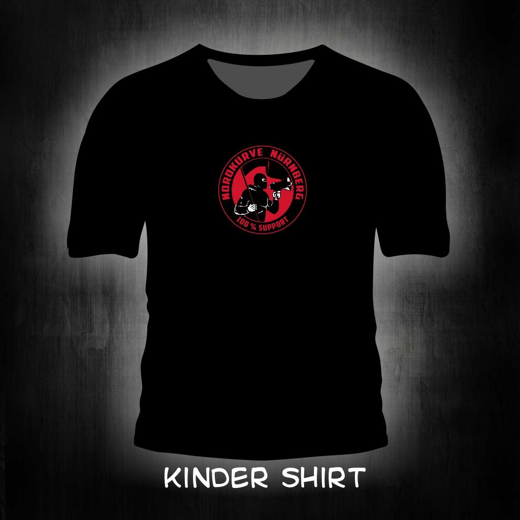 Kinder T-Shirt einseitig bedruckt -100% Support