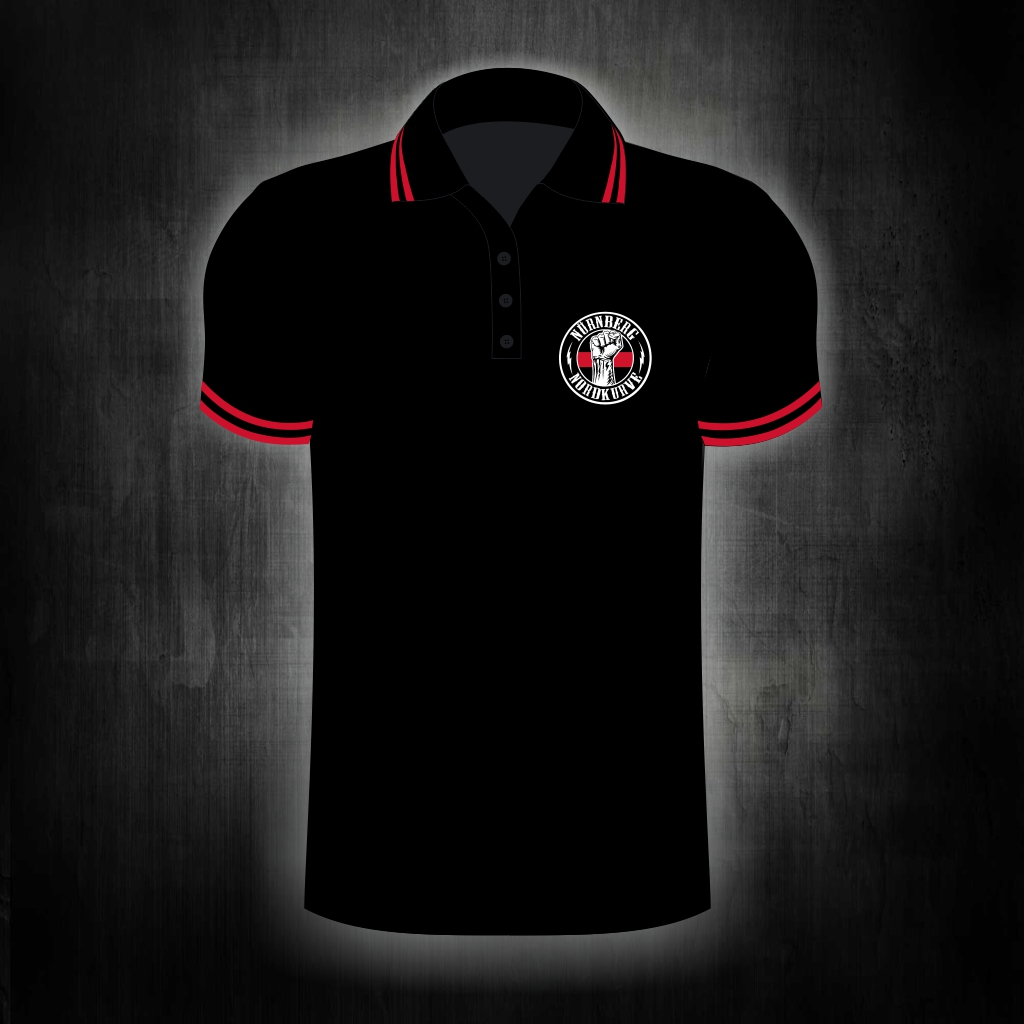 Polo Shirt, einseitig bedruckt  Nürnberg Nordkurve