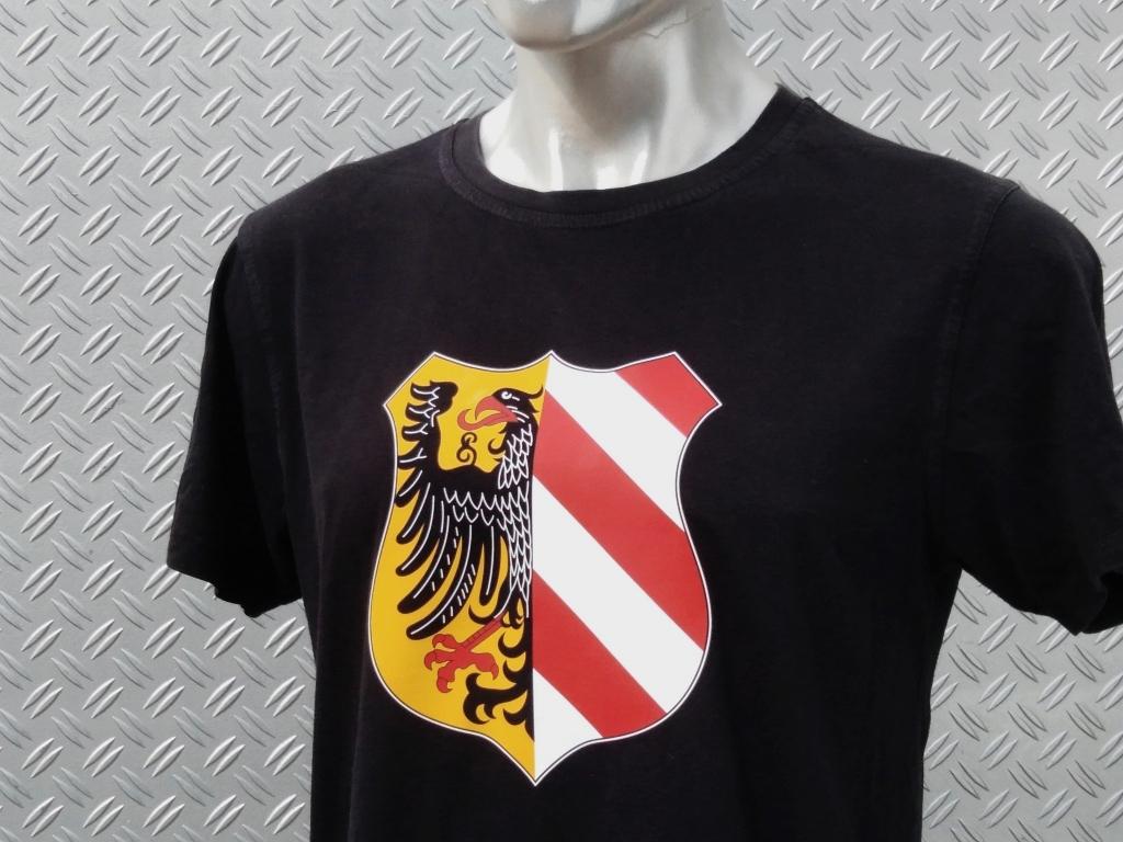 T-Shirt einseitig bedruckt  Stadtwappen groß