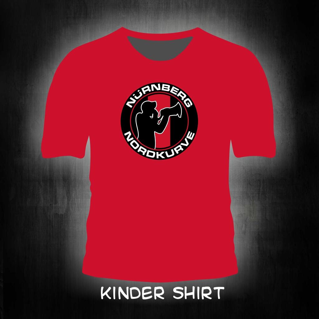 Kinder T-Shirt einseitig bedruckt Megafon Mann