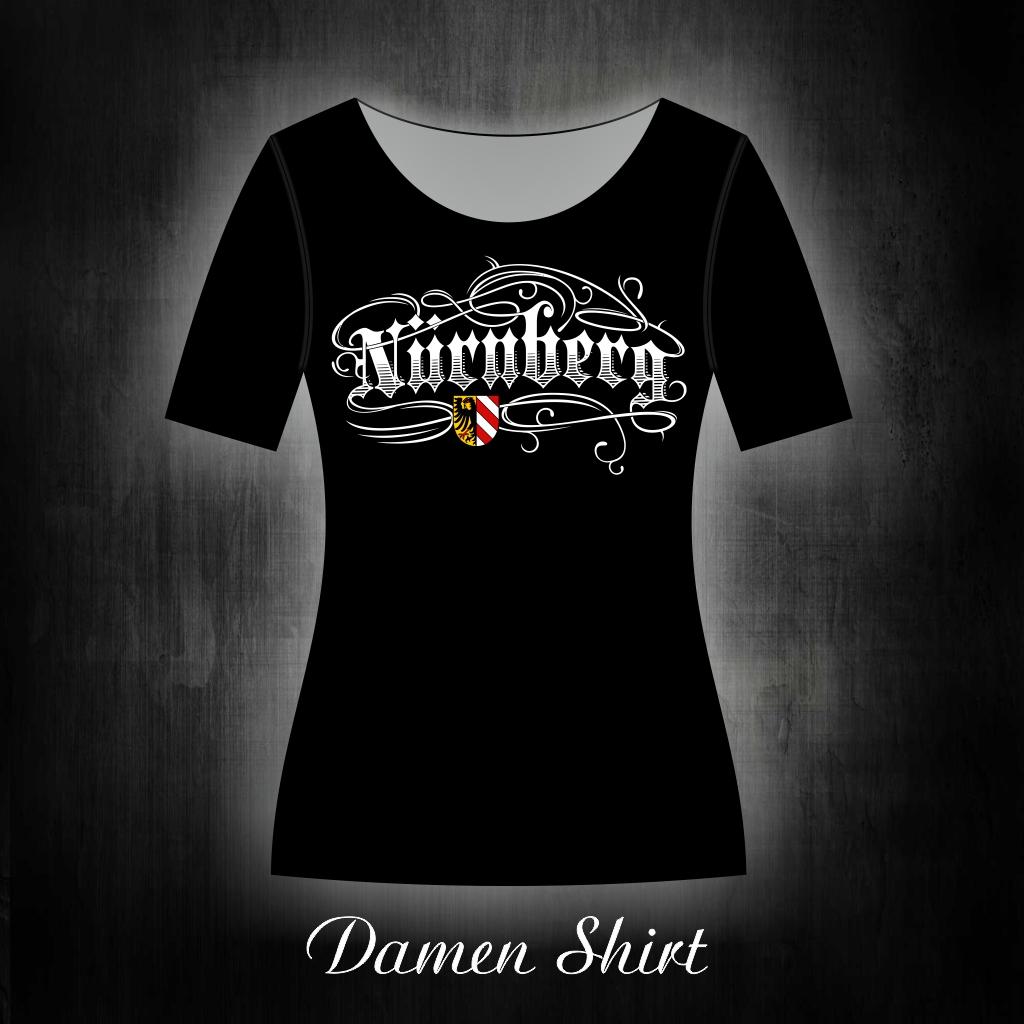 Damen T-Shirt einseitig bedruckt  Tattoo Motiv