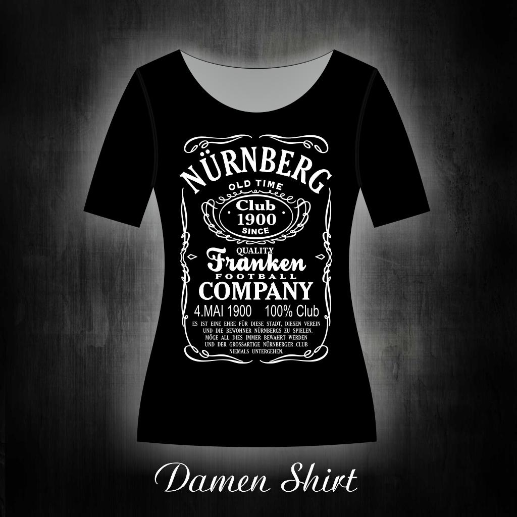 Damen T-Shirt einseitig bedruckt  Old time