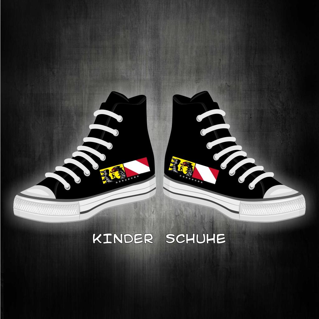 Kinder Schuhe Sneaker Stdtwappen Streifen