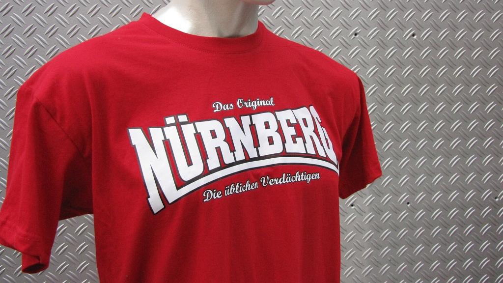T-Shirt beidseitig bedruckt  Wer kämpft kann verlieren  rot