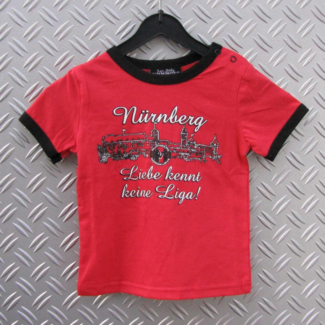 Baby T-Shirt Club Liebe kennt keine Liga
