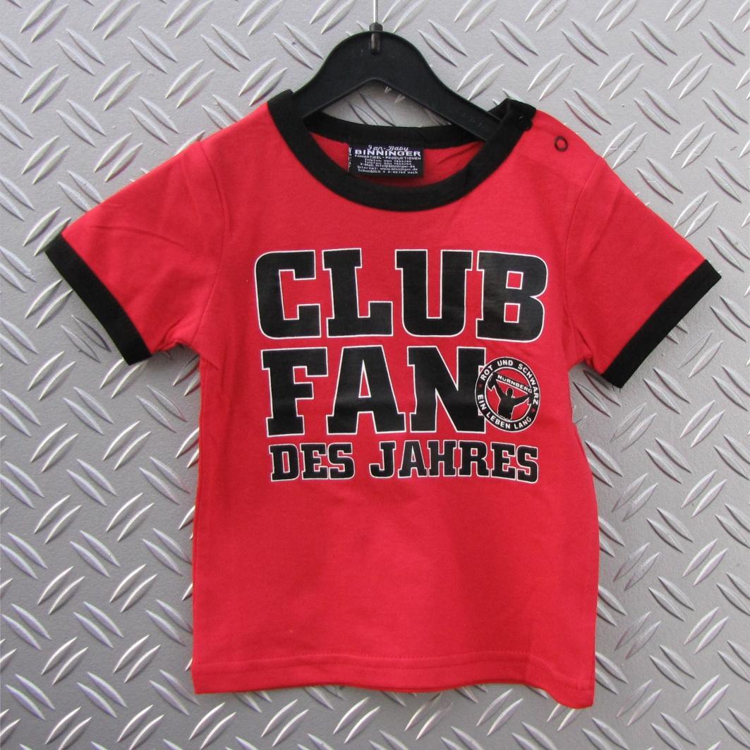 Baby T-Shirt Club Fan des Jahres