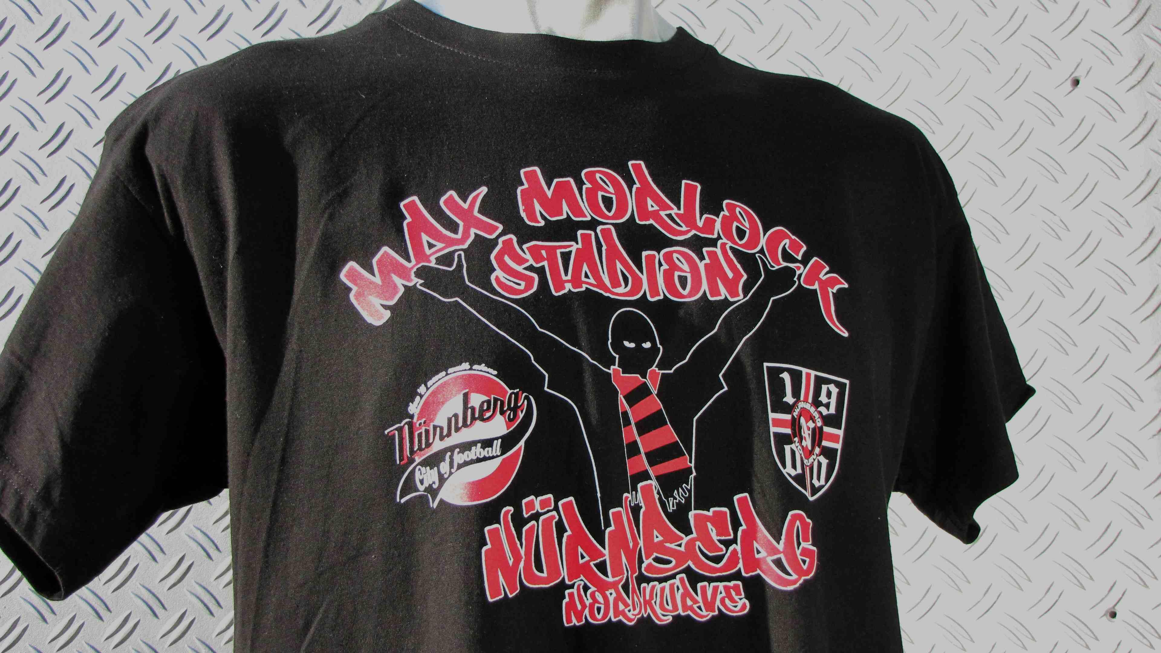 T-Shirt einseitig bedruckt 'Max Morlock Stadion'