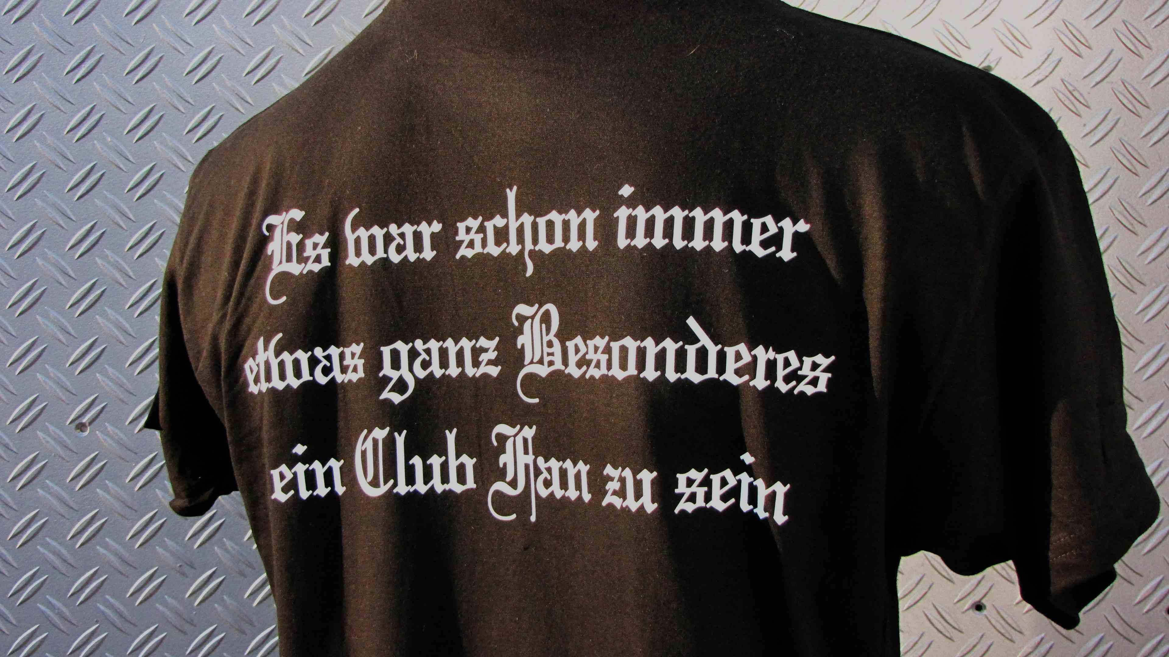 T-Shirt  beidseitig bedruckt Es war schon immer etwas Besonderes