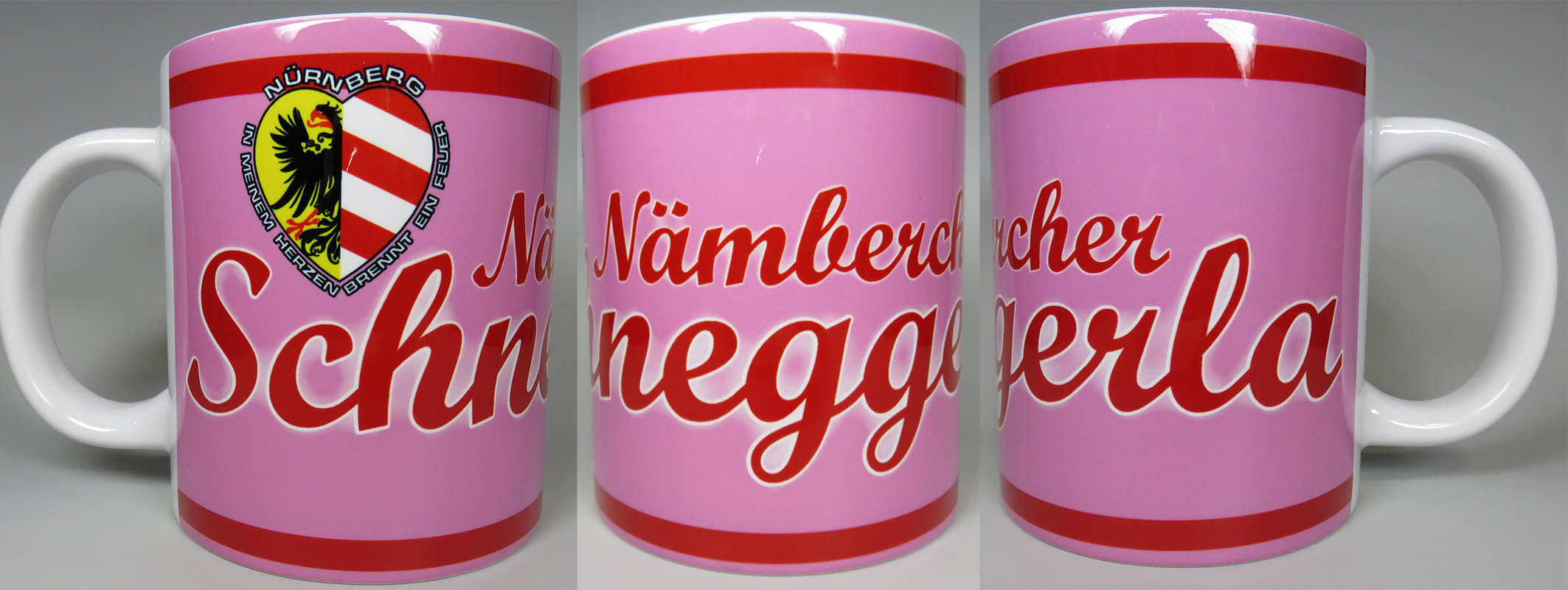 Jumbo Tasse 0,5 Liter  Nämbercher Schneggerla
