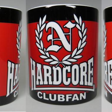 Jumbo Tasse 0,5 Liter  Hardcore Clubfan
